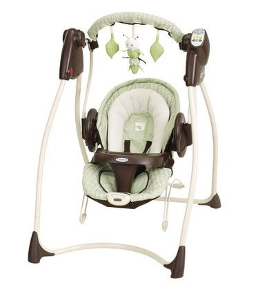 Graco Duo 2-in-1 Swing and Bouncer - Sweet Pea from the Sprout 'n Grow Collection