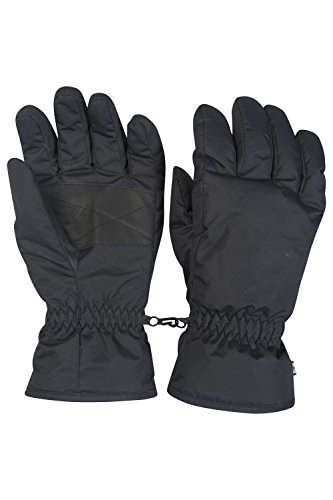 mountain-warehouse-mens-snowproof-winter-warm-snowboard-ski-adjustable-cuffs-gloves-skiwear-snow-bla