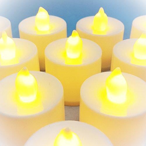 癒しの燈火 LED キャンドル ライト (リモコン 12個 セット)