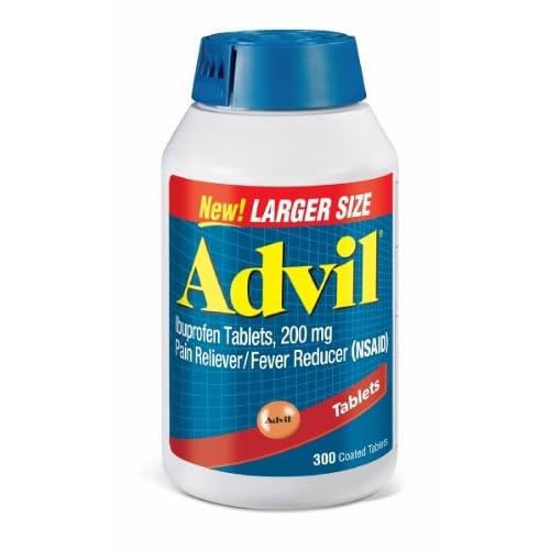 Bottle Of Advil