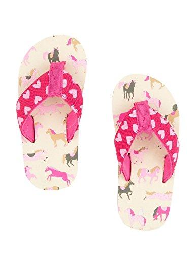 hatley-infradito-bambine-multicolore-pink-cream-multi-s