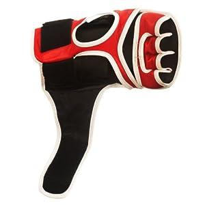 Revgear Vigilante Gel Pro MMA Leather Gloves