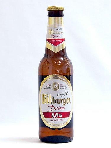 ドイツ産★ノンアルコール★ビットブルガー ドライブ0.0% 瓶 330ml 【ビールテイスト飲料】