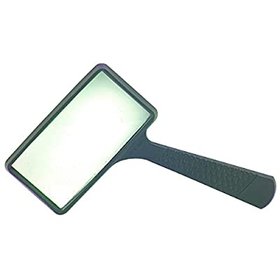 Harbor Freight Rectangle Magnifying Glass, Black (37708) from HFT