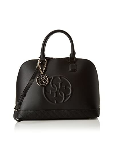 Guess Borsa A Mano Korry Dome Satchel [Nero]