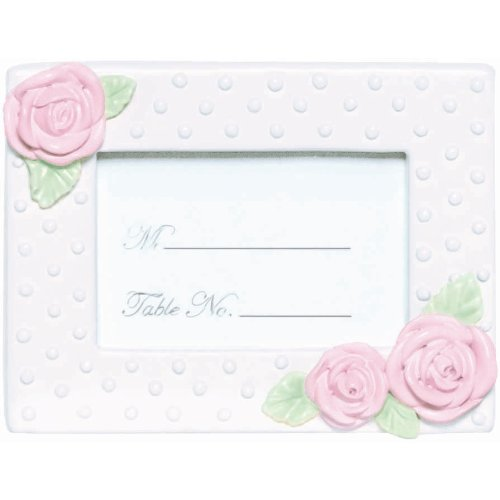 Rose Frame Place Card Holder