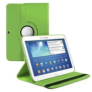 kwmobile Hülle 360° für Samsung Galaxy Tab 3 10.1 Case mit Ständer - Schutzhülle Tablet Tasche mit Standfunktion in Grün