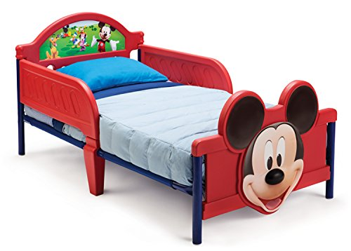 Disney Mickey Mouse 3D Toddler Bed by Disney Cheap Beds UK