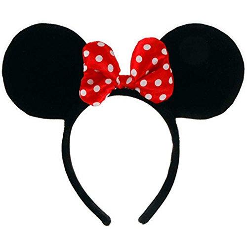 Minnie Ears Headband Costume Accessory front-346739