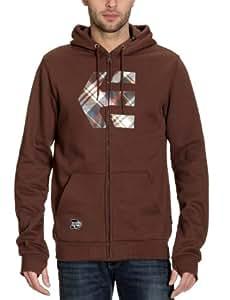 Etnies Herren Sweatshirts ICON FILL ZIP FLEECE, brown, S, 4130001990