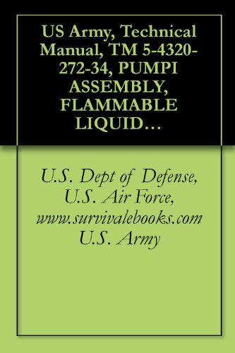 US Army, Technical Manual, TM 5-4320-272-34, PUMPI ASSEMBLY, FLAMMABLE LIQUID, BULK TRANSFER, GASOLINE ENGINE DRIV GPM CAPACITY, 275 FEET TOTAL DYNAMIC ... military manauals, special forces PDF