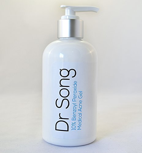 Dr Song Benzoyl Peroxide 10% Acne Wash Face, Body Non-Irritating Formula