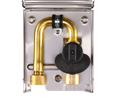 Burnaby Manufacturing Gas Plug G0101-Ss-50-120Dc Gas Outlet Box With 1/2-Inch Inlet Bottom Connection, 3/8-Inch Outlet And Stainless Steel Enclosure