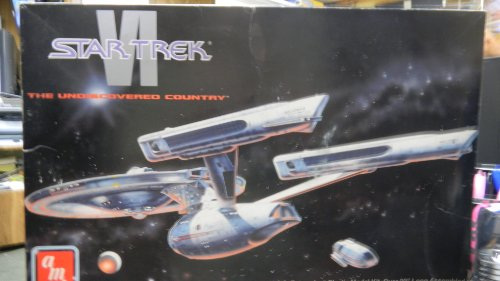 Star Trek The Undiscovered Country U.S.S. Enterprise Model Kit