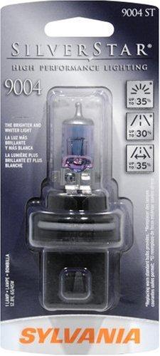 Sylvania 9004 ST SilverStar High Performance Halogen Headlight Bulb (Low/High Beam), (Pack of 1)