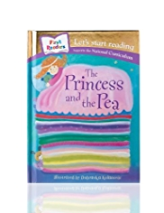 First Readers The Princess & The Pea Story Book