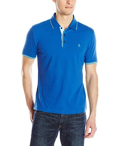 Original Penguin Men's Tri-Color Polo