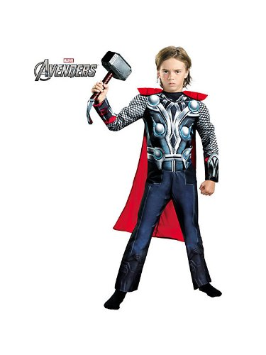 Thor Movie Classic Muscle Costume - Small