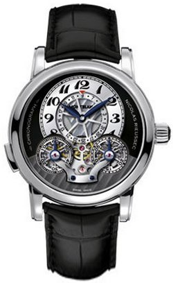 NEW MONTBLANC NICOLAS RIEUSSEC CHRONOGRAPH MENS WATCH 104981