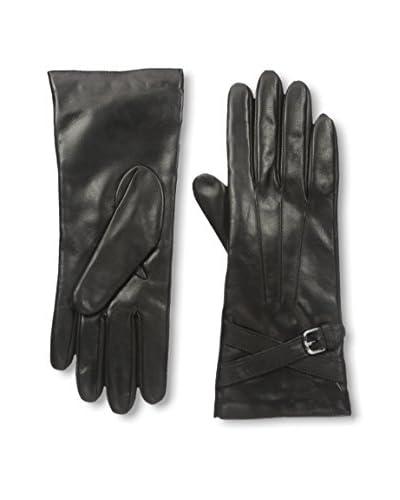 Portolano Women's Leather Glove with Buckle