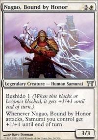 Magic: the Gathering - Nagao, Bound by Honor - Champions of Kamigawa (Mtg Champion Of Kamigawa Cards compare prices)