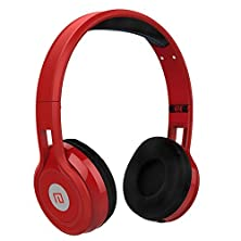 buy Langsdom® D50 Foldable Headphone Over-Ear Noise Cancelling Stereo Audio Surround Sound For Earphone With Microphone In-Line Volume Control Extremely Soft Earpads Headset Suit For Kids Girls Men And Women Compatible For Smartphone Iphone/Ipad/Laptop/Tablet