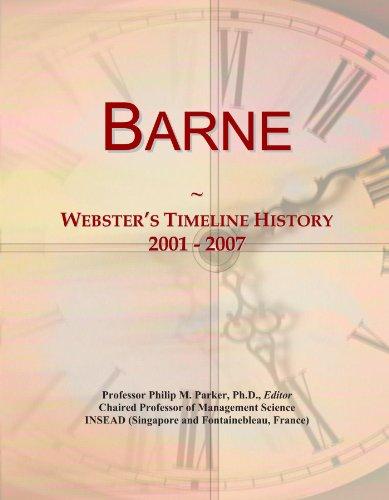 Barne: Webster's Timeline History, 2001 - 2007