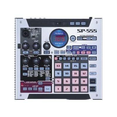 Purchase Roland SP-555 Digital DJ Turntable Creative Sampler with Performance Effects and Large Samp...