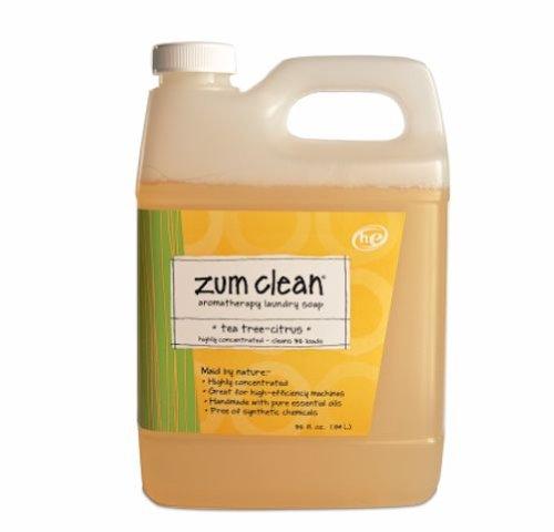 Indigo Wild Zum Clean Laundry Soap, Tea Tree-Citrus, 32 Fluid Ounce