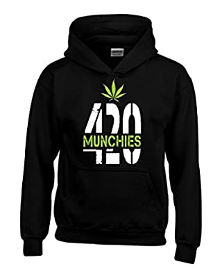 Shop4Ever® 420 Weed Day Hoodies #61424 Weed Smoker Hoodies