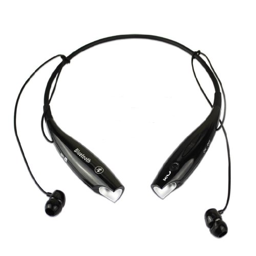 Wireless Bluetooth Hv-800 Neckband Sport Stereo Universal Headset Headphone (Black)