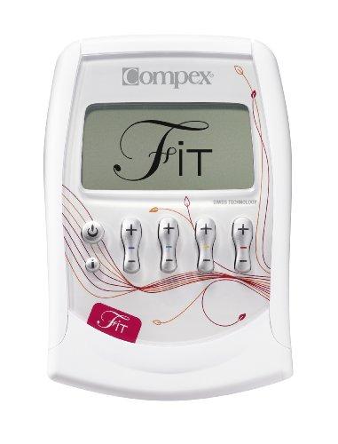 Compex Fit Electrostimulateur fitness femme Blanc