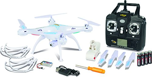 Carson-500507101-Luftfahrt-X4-Quadcopter-360-FPV-Wifi-100-RTF