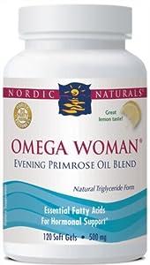 Nordic Naturals Omega Woman, 500 mg, 120 Soft Gels