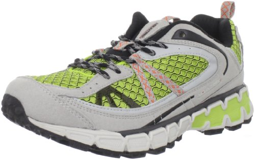 Mountrek Women's Winding Trail Running Shoe,Green,6.5 M US