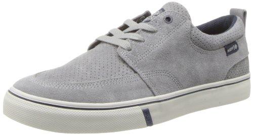 HUF Men's Ramondetta Pro Skateboard Shoe,Grey Perforator/Cream,9 M US