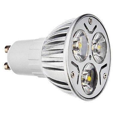 M.M Gu10 3.5W 210-240Lm 6000-6500K Natural White Light Led Spot Bulb (230V, Set Of 10)