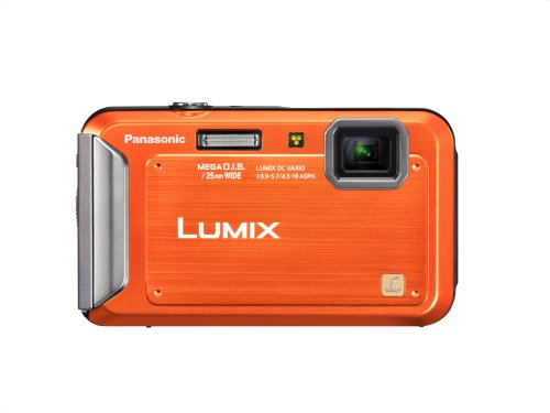Panasonic Lumix TS20 16.1 MP TOUGH Waterproof Digital Camera with 4x Optical Zoom (Orange)