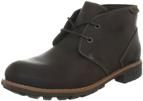 Clarks Midford Edge Boots Mens Brown Braun (Brown WLined Lea) Size: 10 (44 EU)