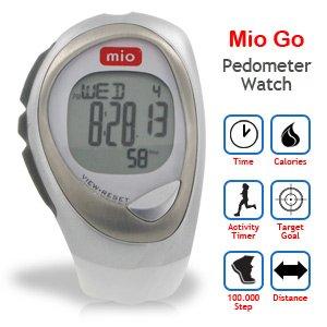 M2NRK2 Mio Go Pedometer Watch (Arctic)