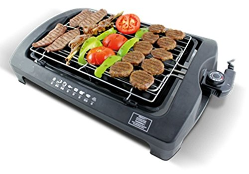 hochwertiger barbeque elektrogrill tischgrill grill mit. Black Bedroom Furniture Sets. Home Design Ideas