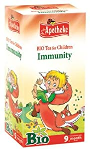 Organic immunity 20 tea bags herbal blend for babies and children by Apotheke