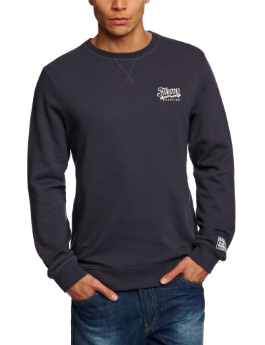 Animal Ugo Men's Sweatshirt Ink Navy Small - CL3SC046-486-S