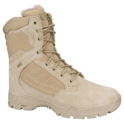 "Magnum Mens RESPONSE II 8"" Tan Police Army Combat Boots 5470 Size 8W"