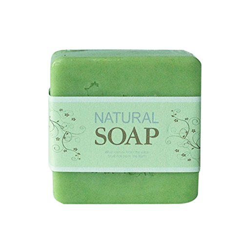 Natural Organic Soap - Chlorella 85g 2016 free shipping natural handmade acrylic soap seal stamp mold chapter mini diy natural patterns organic glass 4x4cm 0099
