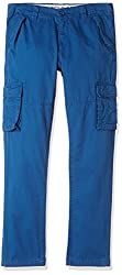 US Polo Boys Trousers (UKTR5178_Dark Blue_EES)