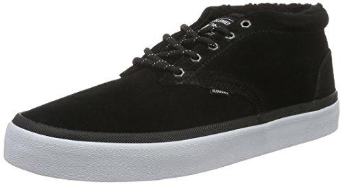 ElementElement PRESTON Herren Sneakers - Scarpe da Ginnastica Basse Uomo , Nero (Schwarz (19 Black)), 43
