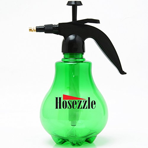 Garden Sprayer By Hosezzle – Multi-color Garden Hose Sprayer – Adjustable Garden Pump Sprayer – Garden Pressure Sprayer That Is Made with Premium Quality Plastic and Metal Materials (Green)
