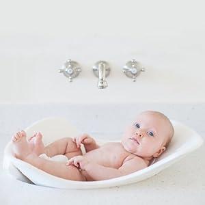 Puj Tub - Soft Infant Bath (white)