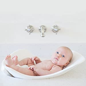 Puj Tub - Soft Infant Bath (white)